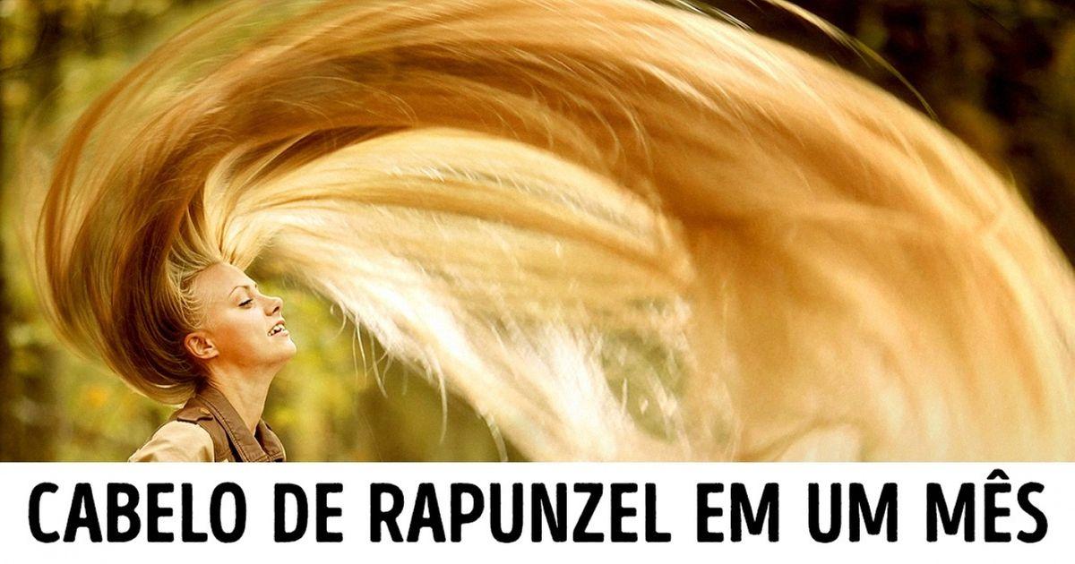 Conheça osegredo deRapunzel para ter umbelo cabelo comprido