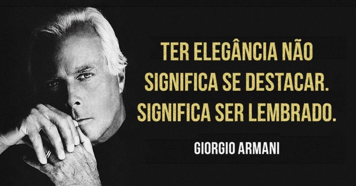 10dicas deestilo deGiorgio Armani