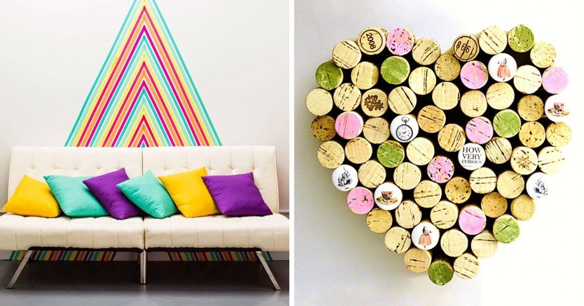 14ótimas ideias para decoração deparedes