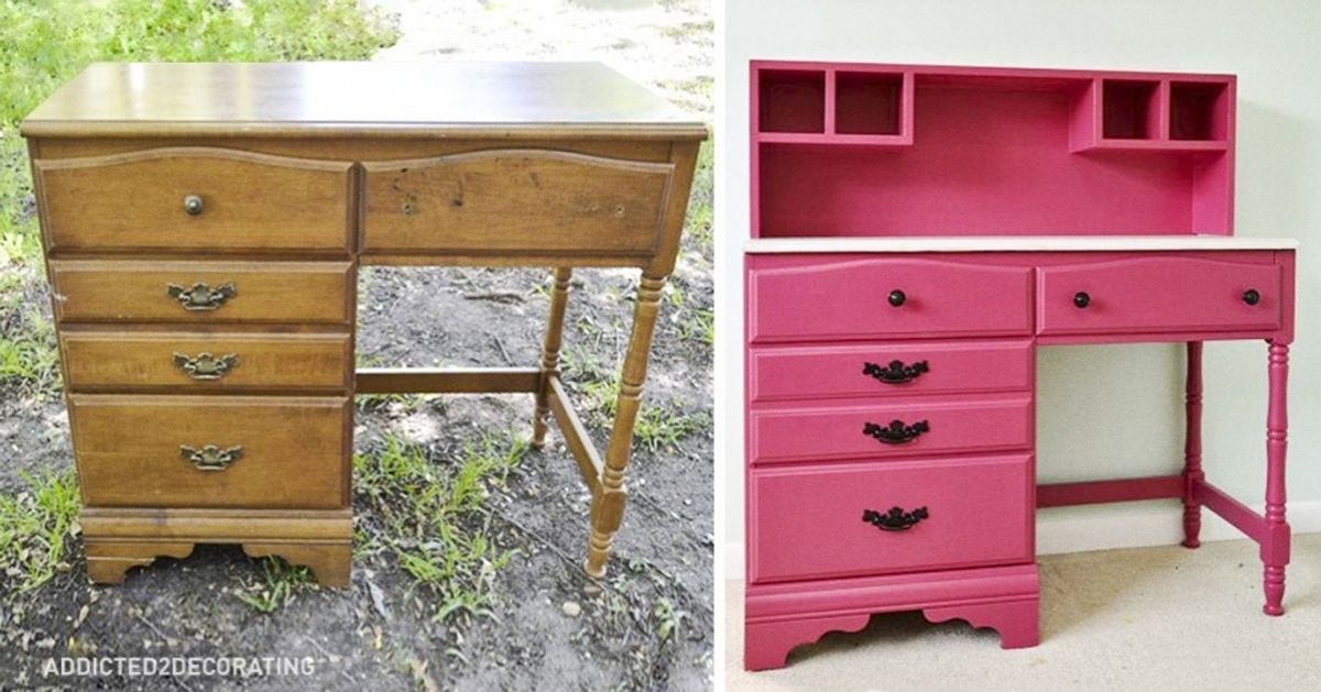 15grandes ideias para renovar móveis antigos