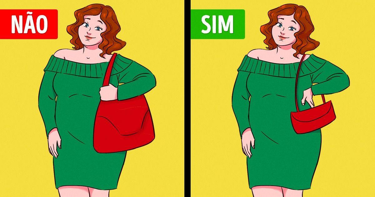 Como escolher a bolsa perfeita para o seu tipo de corpo