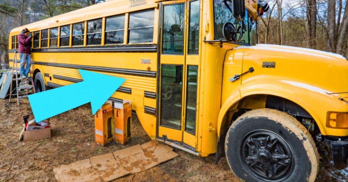 Casal compra ônibus escolar eotransforma emalgo incrível