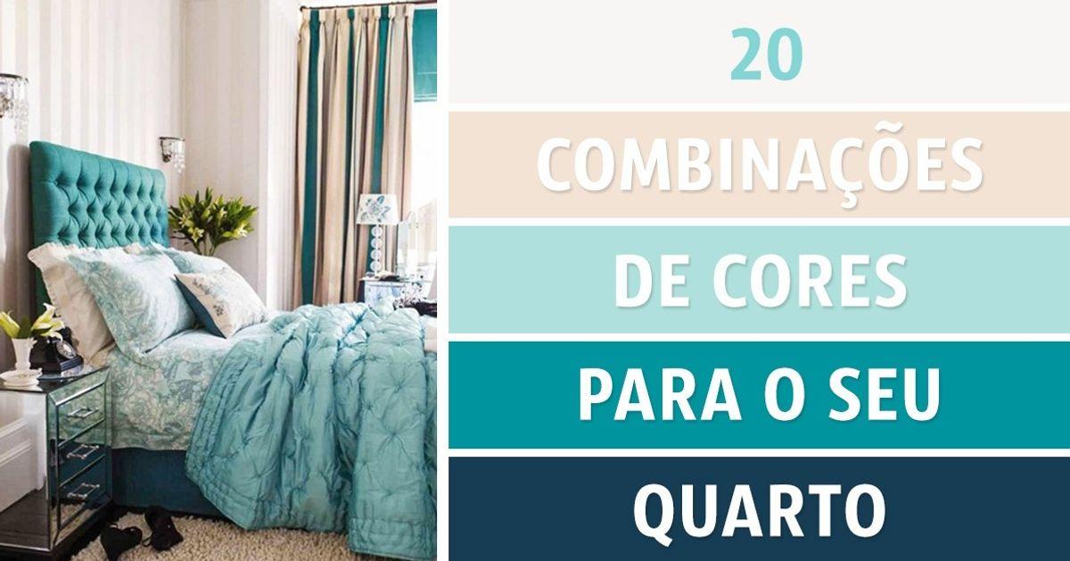 20combinações decores para oseu quarto