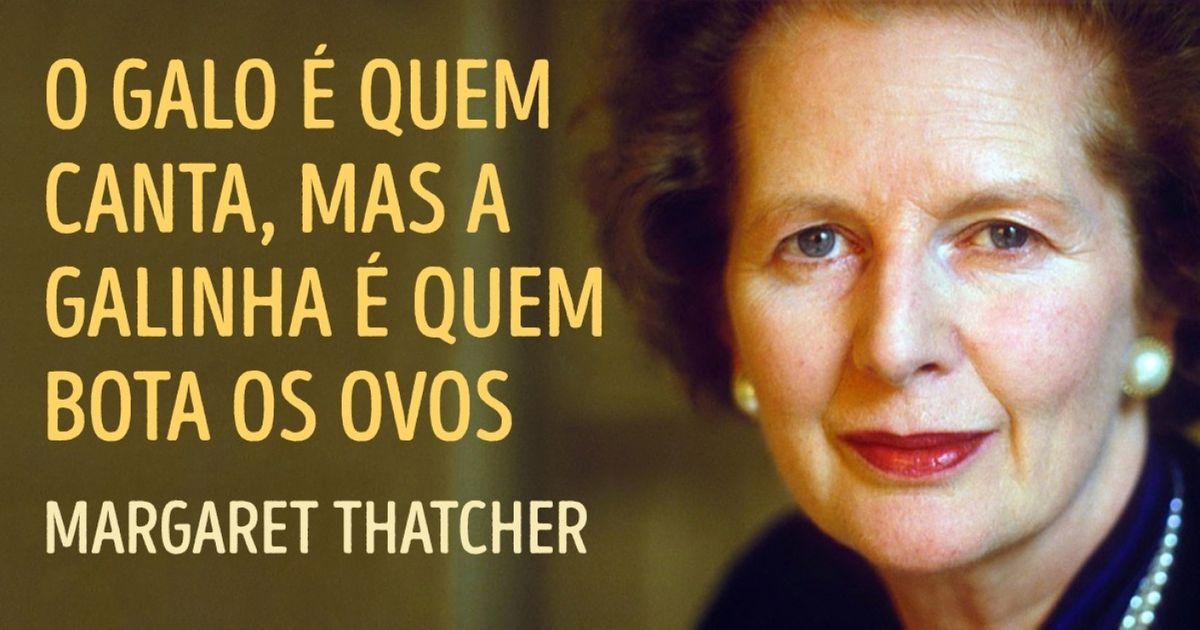 20frases incríveis da 'dama deferro' Margaret Thatcher