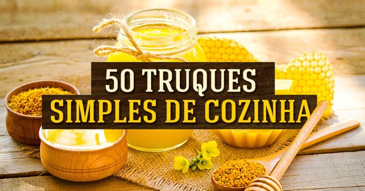50truques culinários para deixar acomida mais saudável