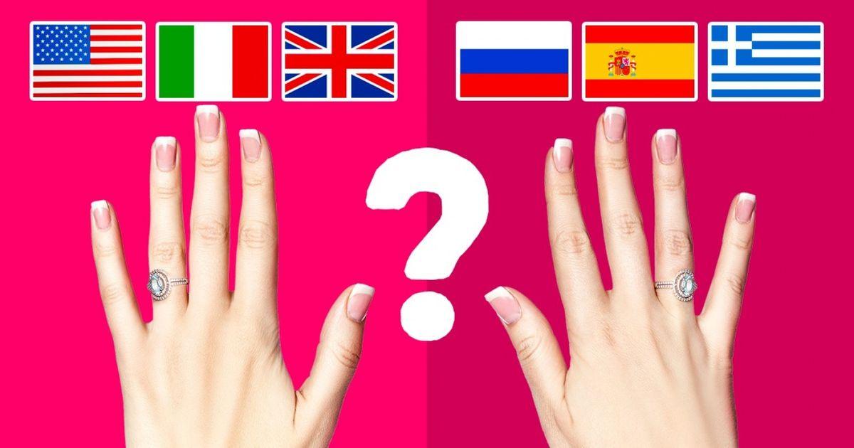 Por que uns países usam aliança namão esquerdae, outros, nadireita?