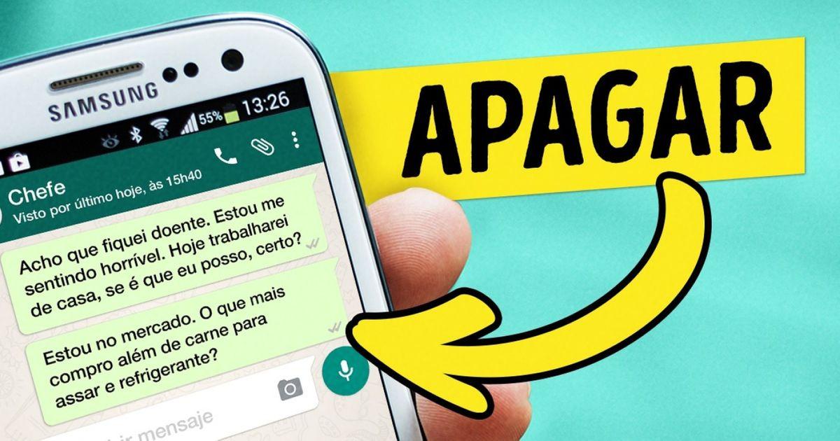 NoWhatsApp será possível cancelar mensagens enviadas