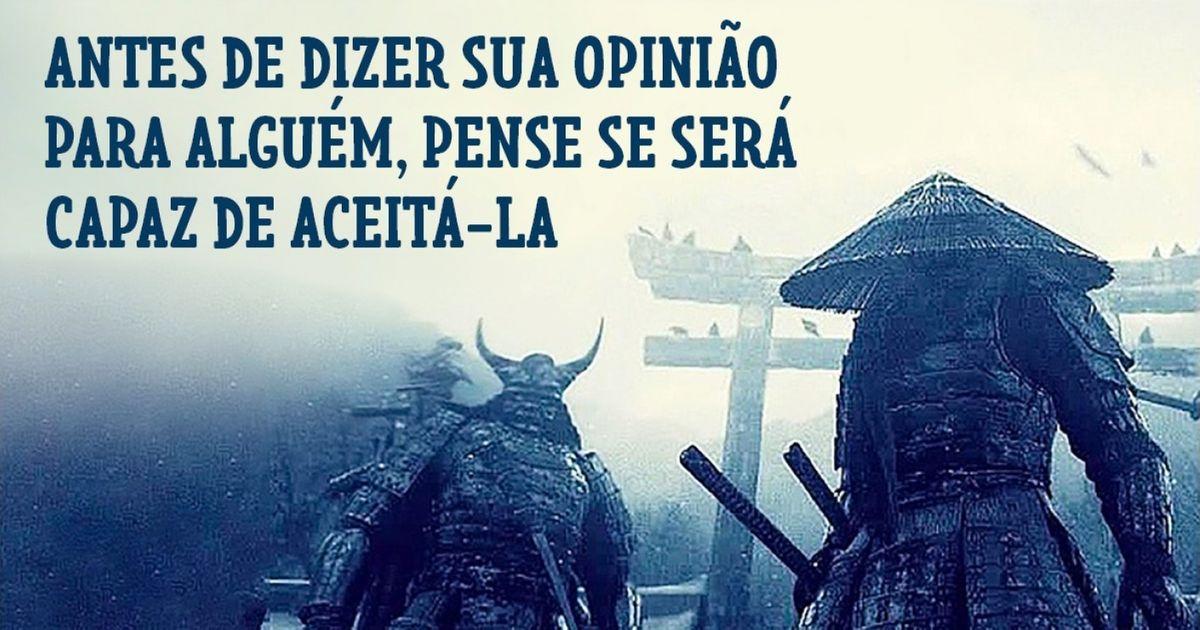 Aprenda com asabedoria dos samurais