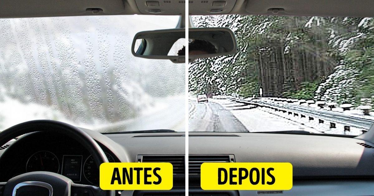 Como evitar que osvidros dopara-brisa edas janelas doseu carro embacem