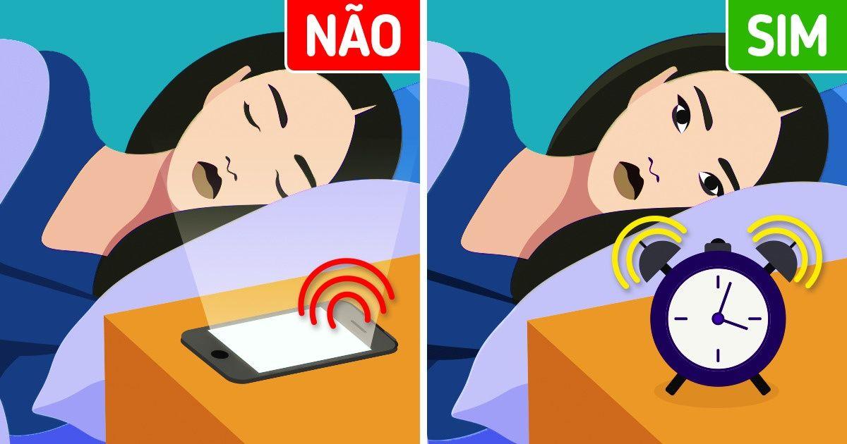 Por que não devemos usar nossos celulares como despertador