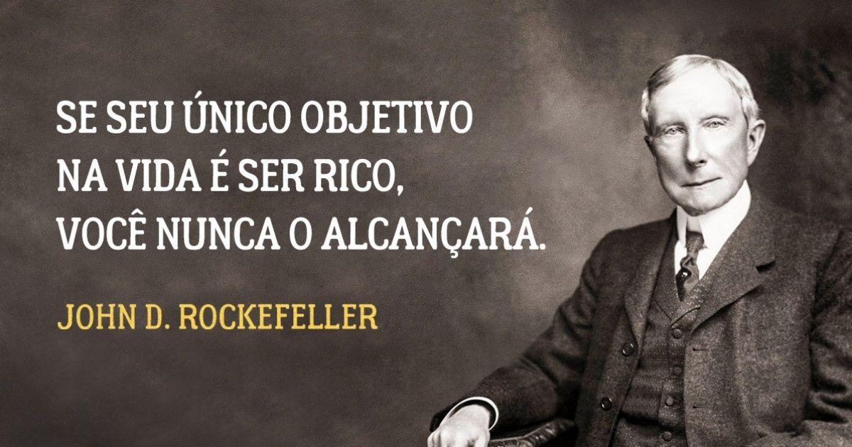 17regras devida dofamoso milionário John D. Rockefeller