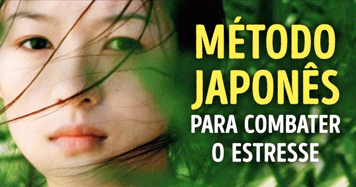 Método japonês para combater oestresse