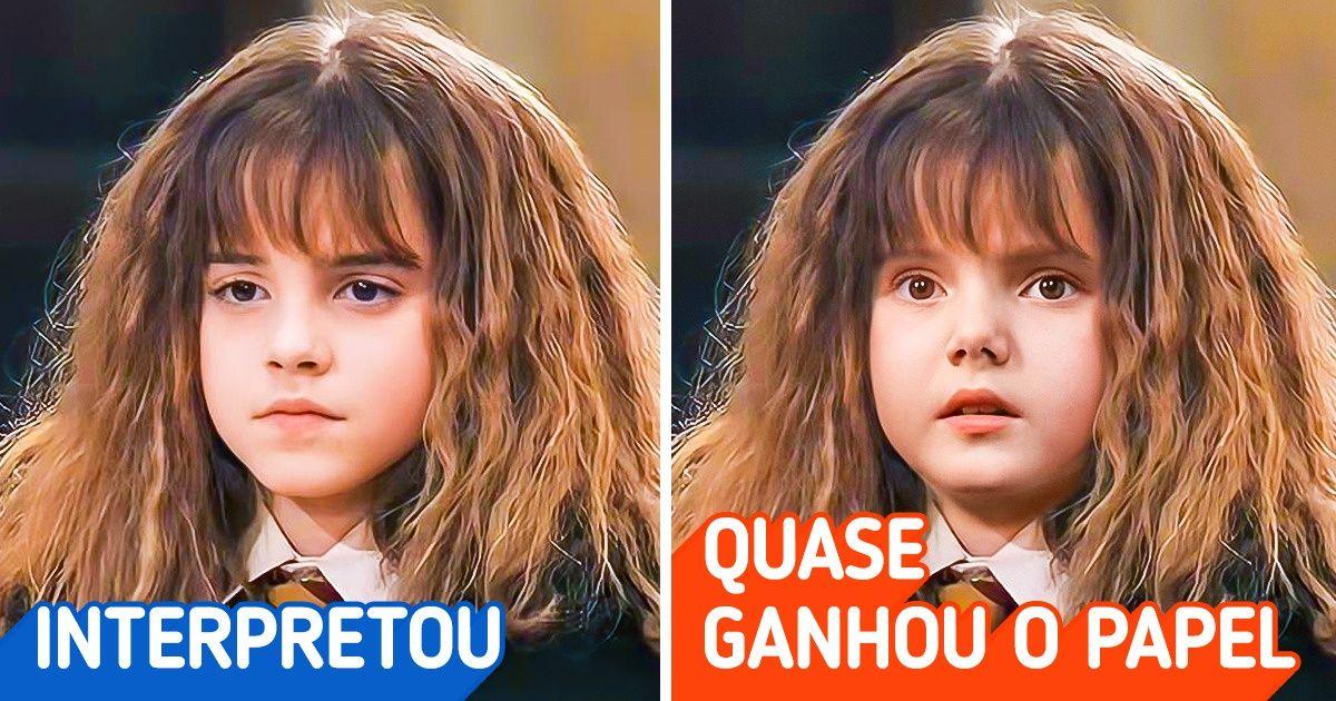 """14+ Atores que por muito pouco não interpretaram personagens marcantes do """"Universo Harry Potter"""""""