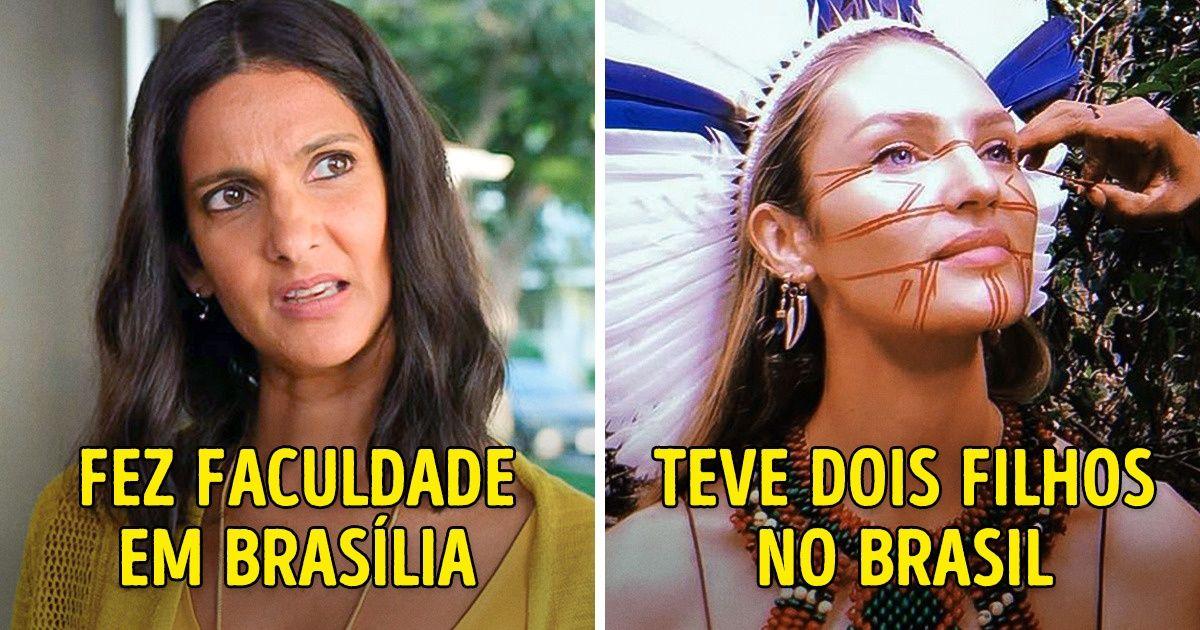 """10 Celebridades internacionais que têm um """"pezinho"""" no Brasil"""