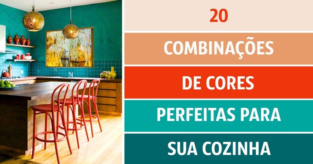 20combinações decores perfeitas para sua cozinha