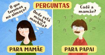 10comics sobre asdiferenças entre mães epais