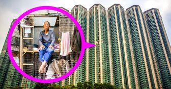"""Veja como são por dentro os apartamentos de Hong Kong conhecidos como """"formigueiros"""""""