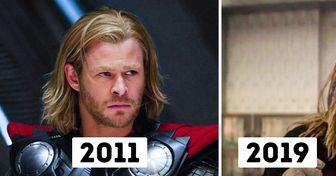 """As mudanças dos """"Vingadores"""", do primeiro ao último filme"""