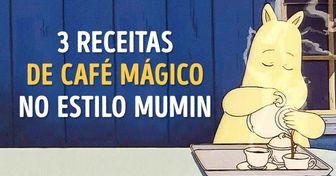 Três receitas decafé mágico noestilo dafamília Mumin