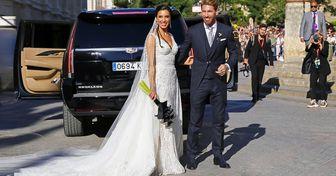 10 Vestidos encantadores que famosas usaram no seu casamento