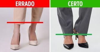 10 Truques de estilo para deixar pernas curtas parecendo mais compridas