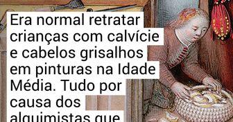 Entenda o porquê de os artistas terem retratado as crianças com características adultas durante a Idade Média
