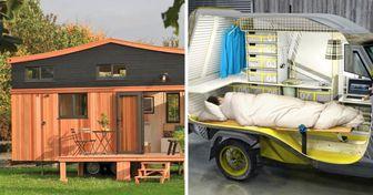 11 Casas móveis com as quais todos os viajantes sonham