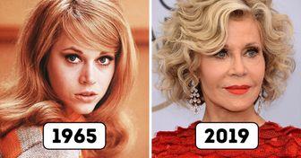 20+ Belas famosas que envelheceram graciosamente