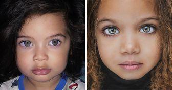 20 Crianças que herdaram sua beleza de diferentes partes do mundo