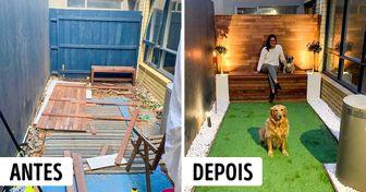 15+ Internautas mostram fotos dos seus melhores projetos feitos em casa