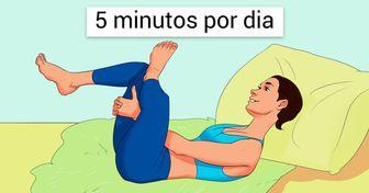 10 Exercícios sem movimento para reiniciar o corpo até dos preguiçosos