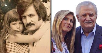 15 Atrizes famosas e seus pais, que nunca tínhamos visto antes