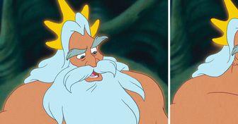 Como seriam 15 personagens da Disney sem barba ou bigode