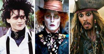7 Motivos que fazem de Johnny Depp uma verdadeira joia de Hollywood