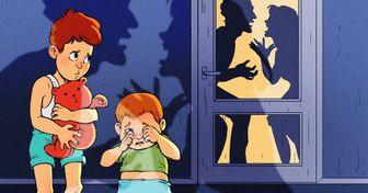 """10 Coisas que acontecem quando os pais decidem ficar juntos """"pelas crianças"""""""