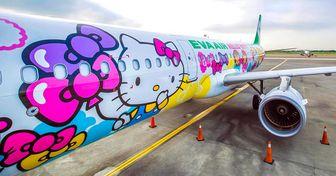 15+ Aviões que ousaram no design com vários desenhos e cores