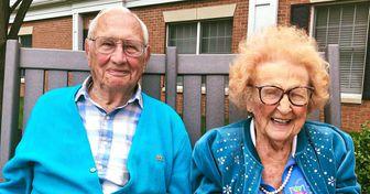 Um casal de idosos de mais de 100 anos provou que sempre vale a pena apostar no amor
