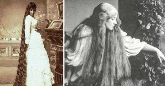 """Por que muitas mulheres vitorianas não cortavam o cabelo (e 17 cabeleiras no melhor estilo """"Rapunzel"""")"""