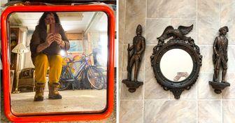 Nunca imaginamos que vender um espelho pudesse ser tão engraçado até ver estas fotos