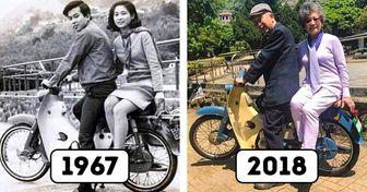 22 Casais mostram que o tempo leva tudo, menos o amor verdadeiro