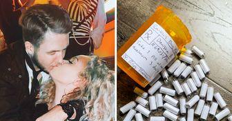 """Jovem sofre com ansiedade e ataques de pânico, e seu namorado cria """"pílulas de amor"""" para ajudá-la"""