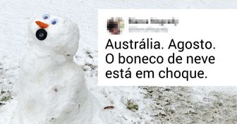 Neve na Austrália: confira as reações dos habitantes e dos cangurus