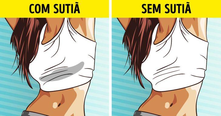 9 Razões para não usar sutiã e se sentir muito melhor
