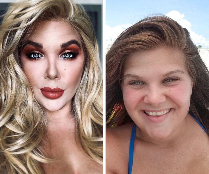 """20+ Pessoas que abusaram do photoshop e tiveram seus """"retoques"""" revelados"""