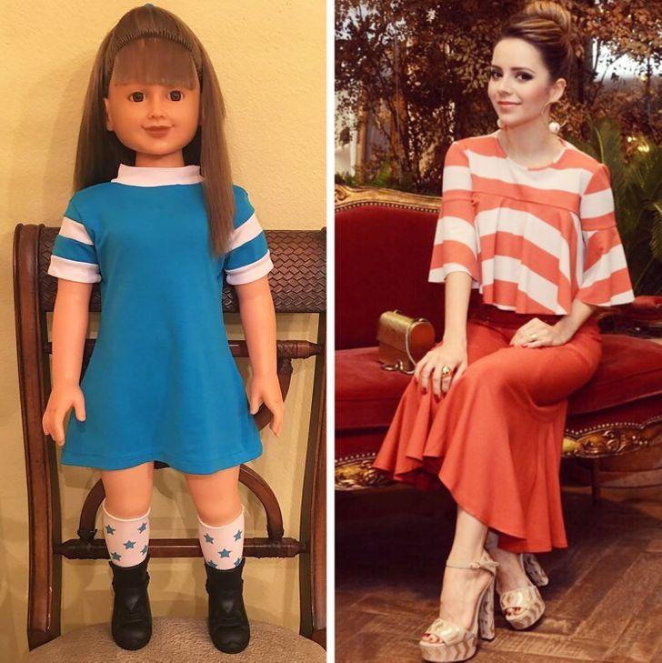 """A versão """"boneca"""" de 15 famosas brasileiras ao longo de mais de 50 anos de história"""