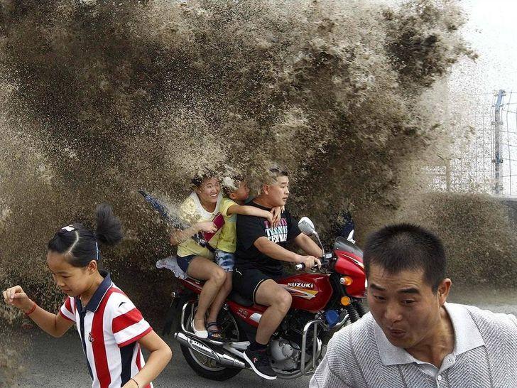 20+ Fotos tiradas um segundo antes de uma pequena catástrofe