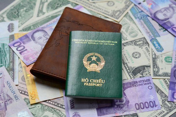 Oque simbolizam ascores das capas dos passaportes