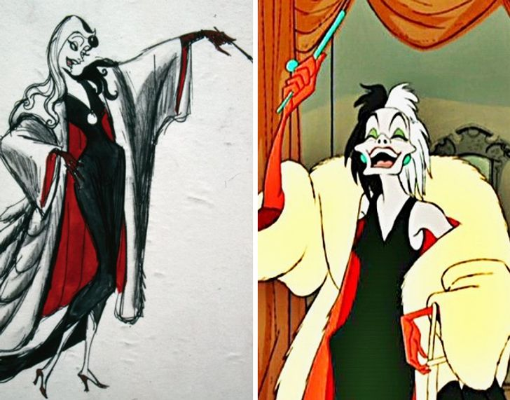 Como eram osprimeiros desenhos dos personagens daDisney