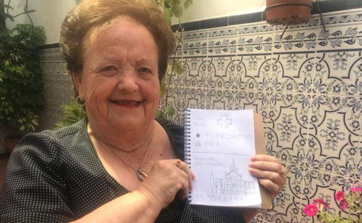 A história do neto que criou uma agenda telefônica ilustrada para a avó que não sabe ler