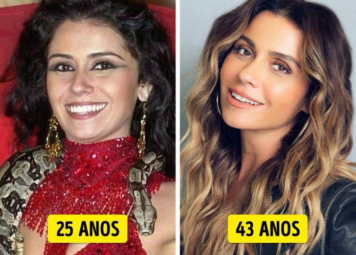 20 Famosos brasileiros que parecem ter descoberto o segredo da juventude eterna